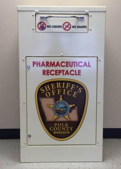 Pharmaceutical Receptacle Drop Box
