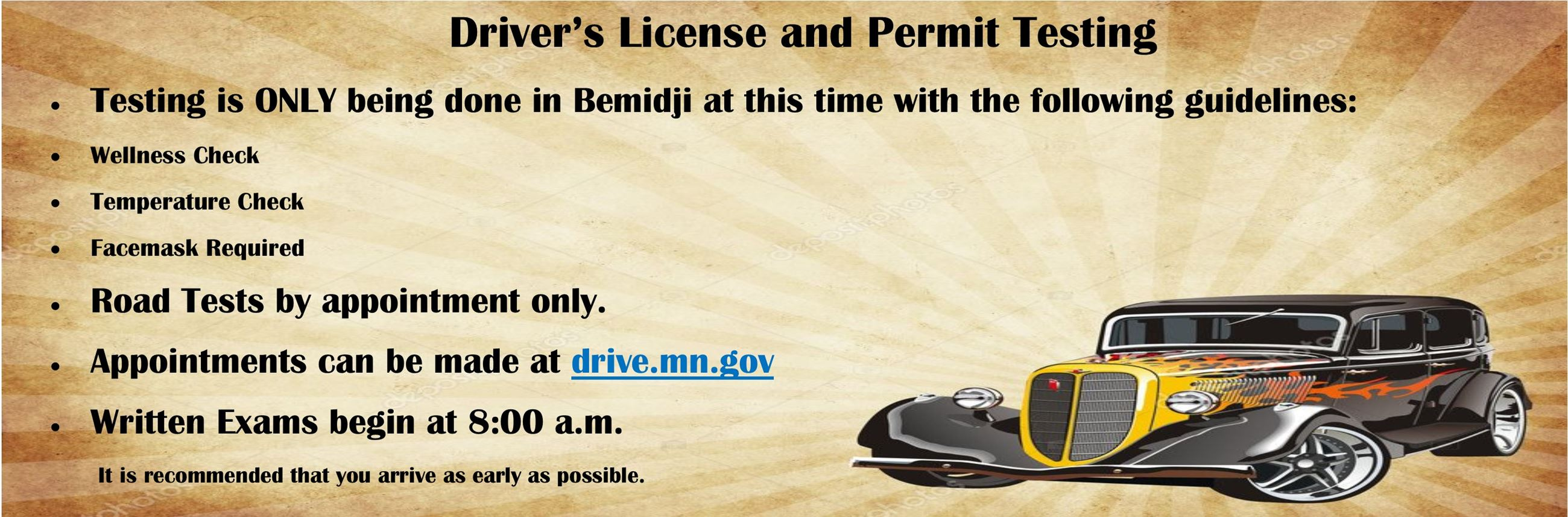 Drivers License Info Opens in new window