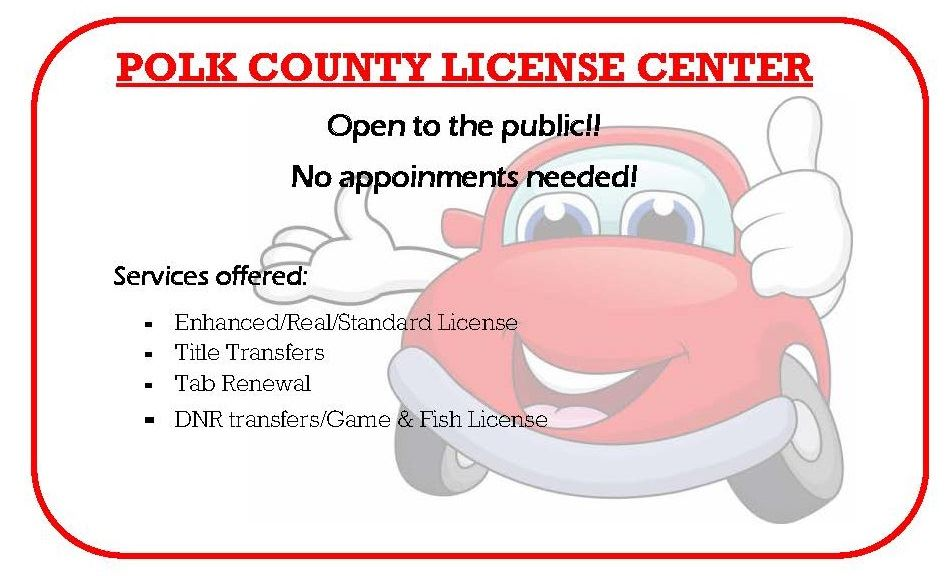 License Center No Appoinments Needed