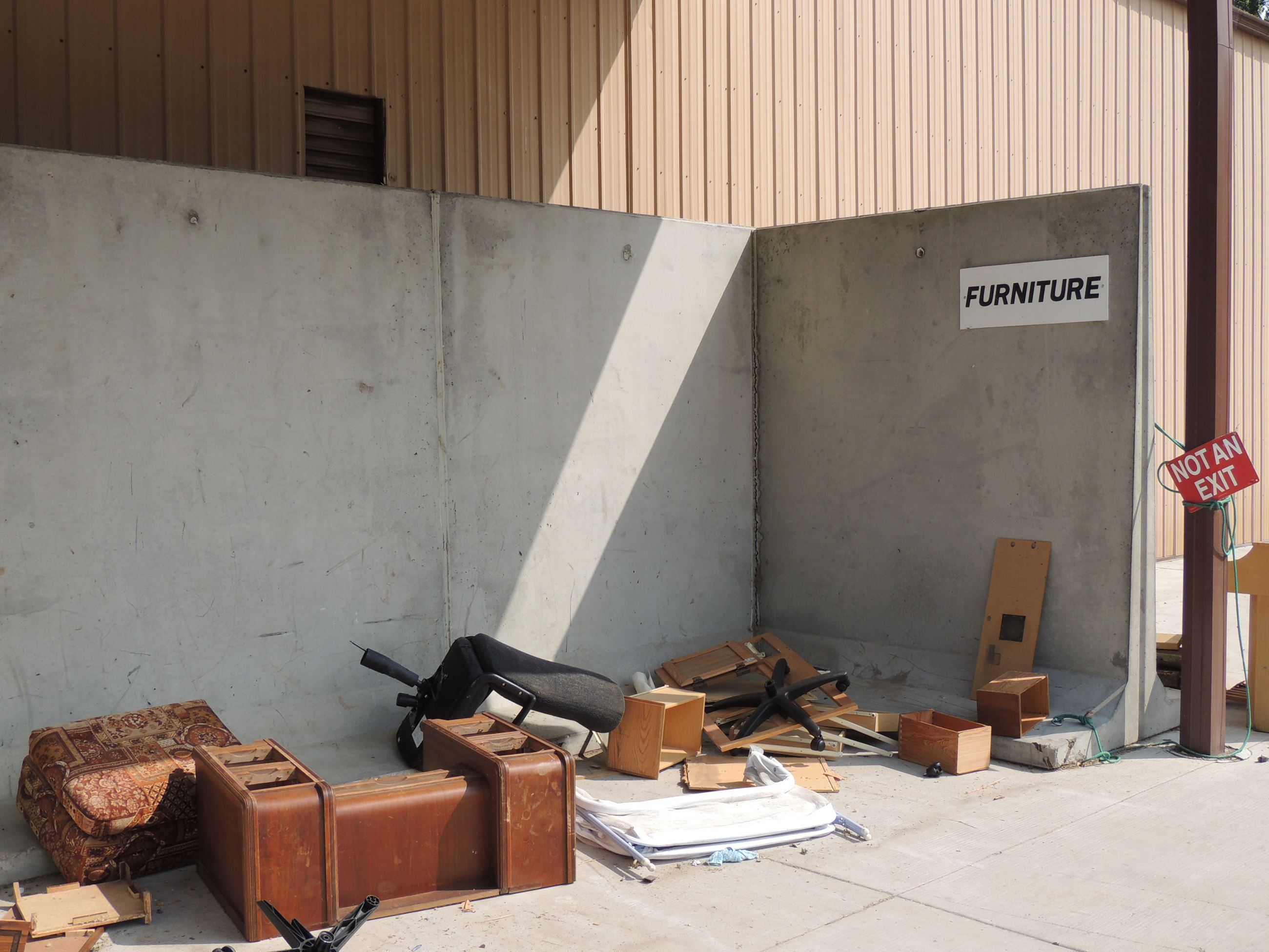 Furniture Drop-Off Area